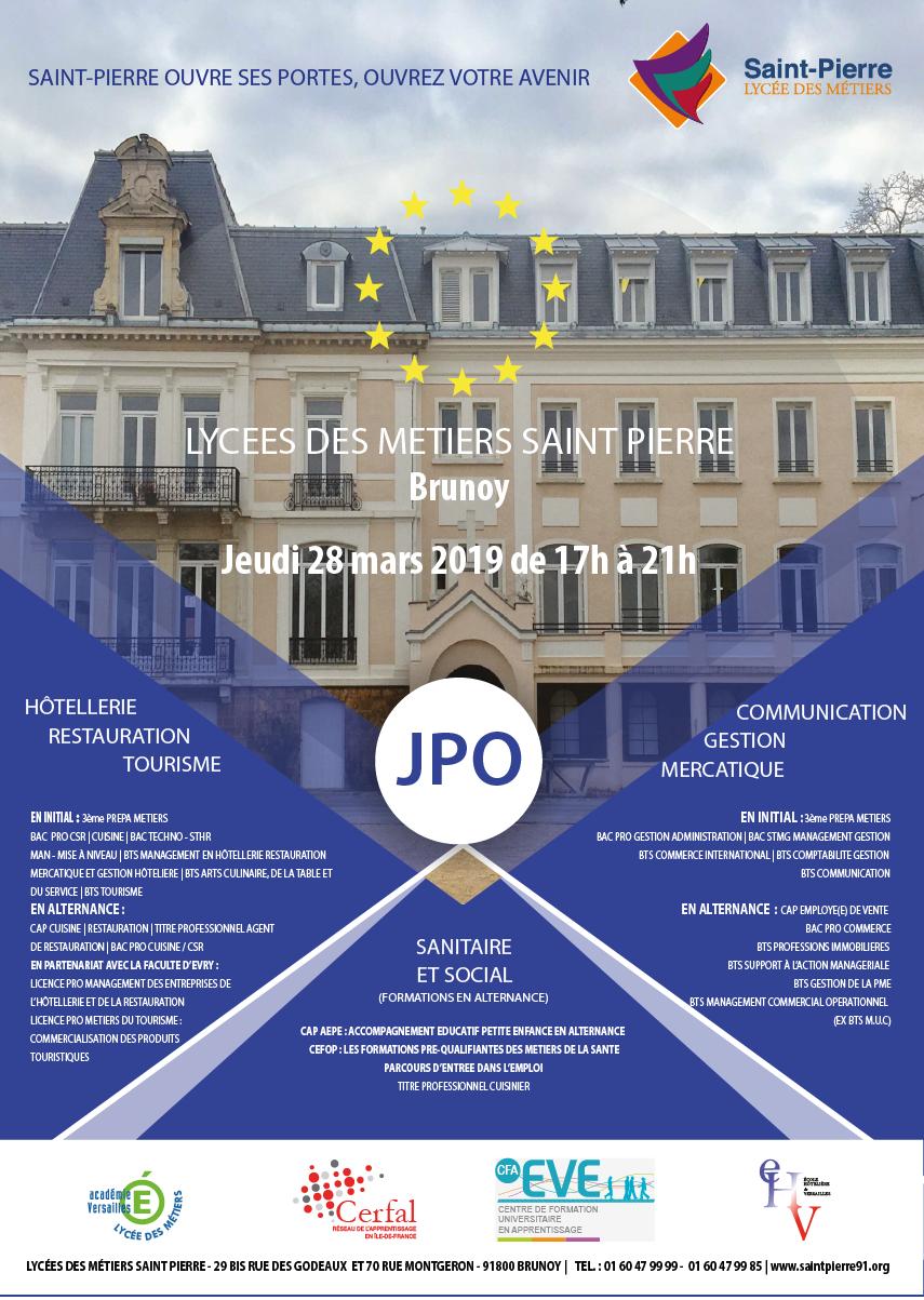 Saint Pierre Institut Portes Ouvertes 2019 Lycées Des Métiers