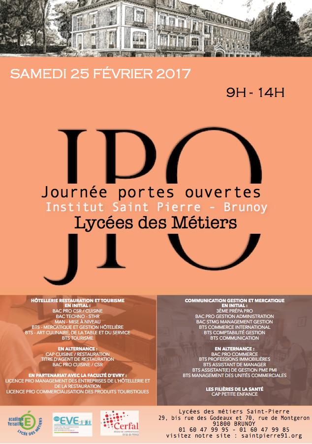 saint-pierre institut - portes ouvertes 2017 - Bts Cuisine En Alternance